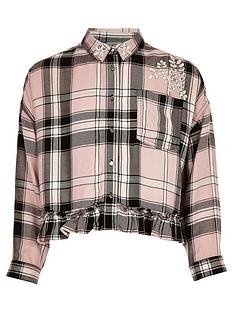 river-island-girls-pink-diamante-embellished-check-shirt