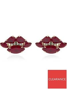 anton-heunis-swarovski-lip-earrings-red
