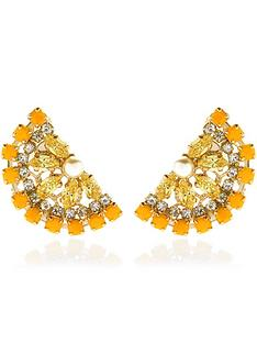 anton-heunis-lemon-swarovski-crystal-and-pearl-stud-earrings-yellow