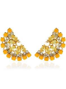 anton-heunis-lemon-swarovski-crystal-and-pearl-stud-earrings-yellow