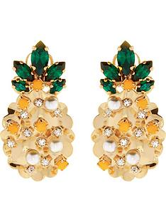 anton-heunis-pineapple-swarovski-and-pearl-stud-earrings-yellow