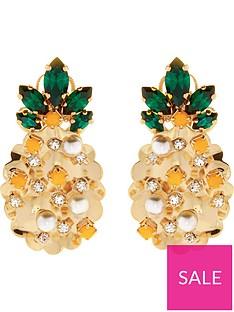 anton-heunis-pineapple-swarovski-and-pearl-stud-earrings-yellow