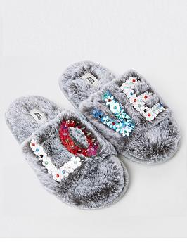 river-island-girls-grey-faux-fur-sequin-love-slippers