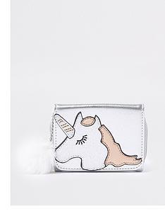 river-island-girls-metallic-silver-unicorn-print-purse