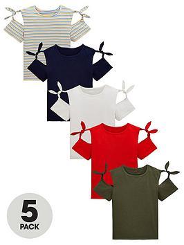 v-by-very-girls-5-pack-tie-sleeve-tops-multi