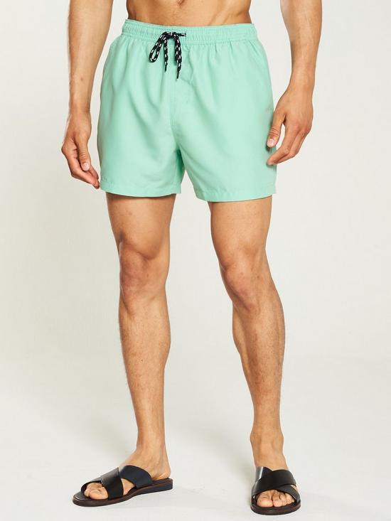7a1b64a2e43ed V by Very Basic Swim Shorts - Mint   very.co.uk