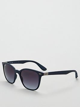 ray-ban-square-matte-ombreacute-sunglasses-dark-blue
