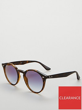 ray-ban-round-tortoise-tinted-lens-sunglasses-brownblue