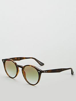 ray-ban-round-tortoise-ombreacute-sunglasses-brown
