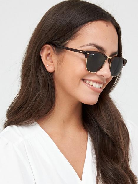 ray-ban-clubmaster-sunglasses-tortoise