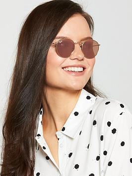 ray-ban-round-metal-sunglasses-shiny-gold