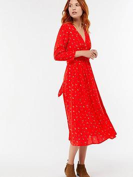 monsoon-betty-floral-print-midi-dress-rednbsp
