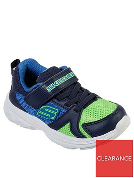 skechers-eclipsor-toddler-strap-trainers-bluelime