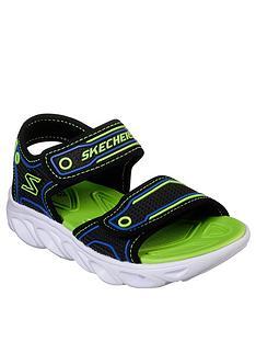 skechers-hypno-flash-sandals-bluelime