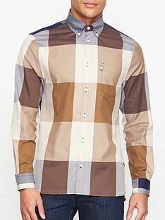 aquascutum-henlake-giant-club-check-shirt-vicuna