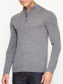 aquascutum-hamilton-half-zip-wool-jumper-grey