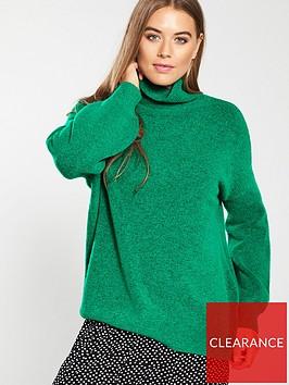 whistles-oversized-slouchy-funnel-neck-knittednbspjumper-green