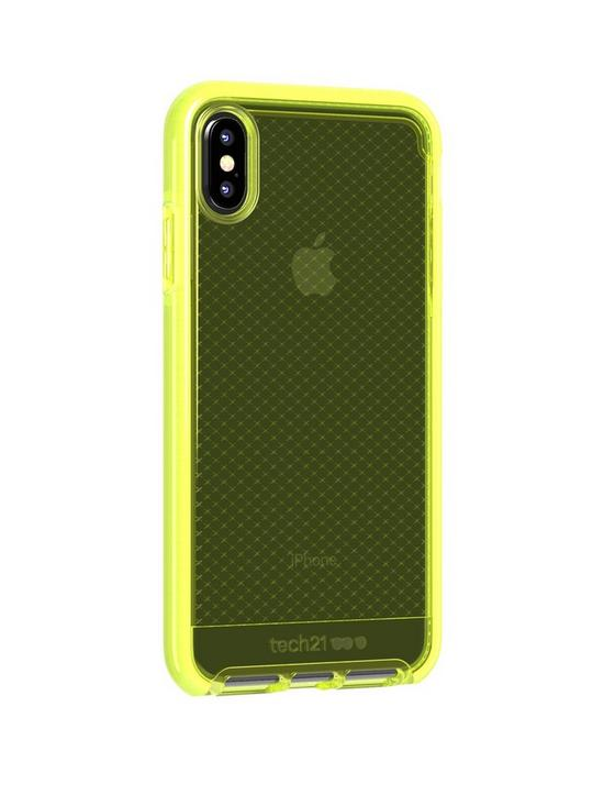 size 40 7a6d2 c8275 Evo Check for iPhone Xs Max- Neon Yellow