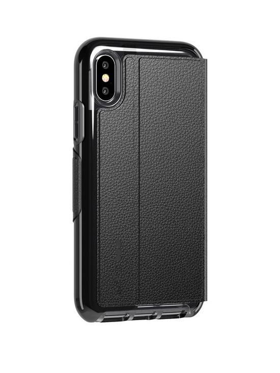 the best attitude edce1 0718e Evo Wallet for iPhone X/Xs - Black