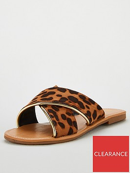 v-by-very-hallienbspcrossover-flat-sliders-animal-print