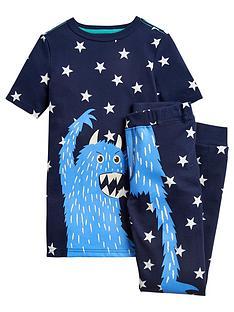bb2cc133db Joules Boys Raoul Monster Pyjama Set