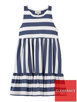 joules-girls-juno-lobster-stripe-drop-hem-dress