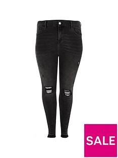 ri-plus-ri-plus-amelie-embellished-knee-skinny-jeans-black