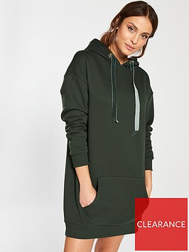 v-by-very-jersey-hoodie-dress-green