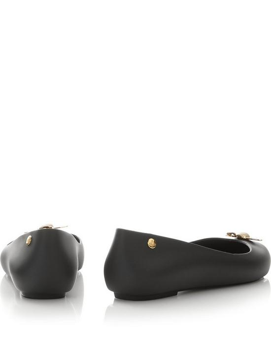 c2c1e0e151e Vivienne Westwood For Melissa Space Love 18 Pearl Orb Ballet Shoes - Black