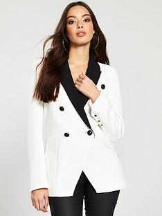 river-island-river-island-contrast-collar-tux-blazer-white