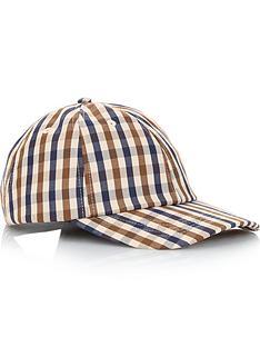 aquascutum-mens-mason-club-check-woven-baseball-cap-vicuna