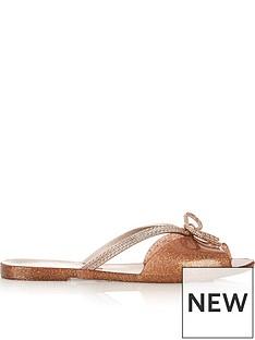 melissa-bow-detail-flip-flop-sandalsnbsp--rose