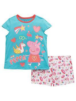 peppa-pig-girls-shorty-pyjamas-multi