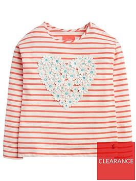 joules-girls-cora-stripe-heart-t-shirt-pink