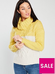 river-island-colour-block-jumper-yellow