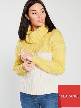 river-island-colour-block-jumper-yellow