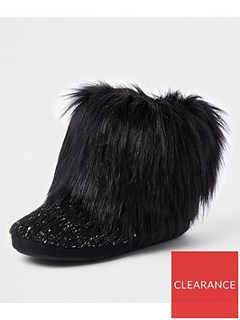 river-island-river-island-knitted-slipper-boot-black