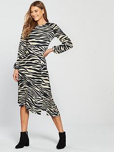v-by-very-tiger-print-jersy-midi-dress