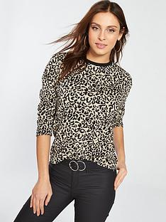 v-by-very-sweat-top-leopard-print