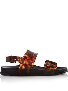 melissa-double-strap-slingback-sandals-black