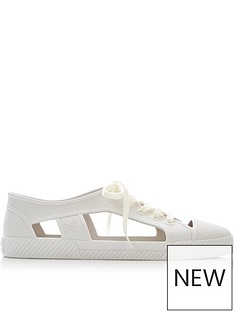 melissa-vivienne-westwood-for-melissa-brighton-cut-out-lace-up-trainersnbsp--white