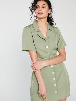 native-youth-serena-revere-collar-dress-sage