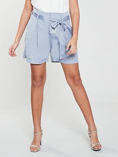 native-youth-native-youth-frida-paperbag-waist-shorts-w-pleats
