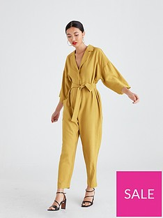 native-youth-rosie-revere-collar-utility-jumpsuit-with-patch-pocket-mustard