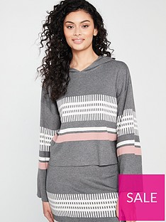 native-youth-native-youth-janelle-placement-stripe-knitted-hoodie