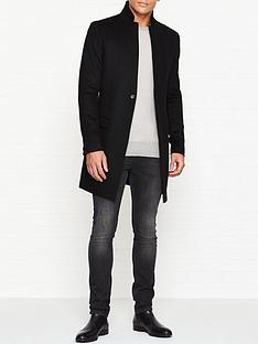 allsaints-bodell-overcoat-black