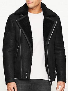allsaints-myres-shearling-jacket-black
