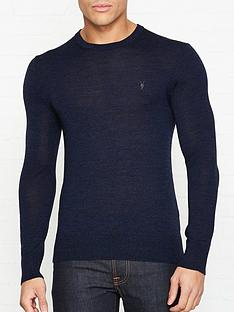allsaints-mode-merino-wool-crew-neck-jumper-blue