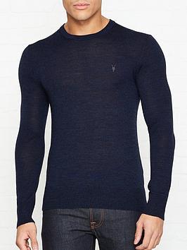 allsaints-mode-merino-wool-crew-neck-jumper-blue