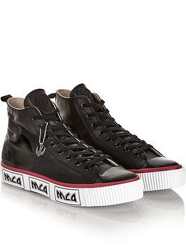 mcq-alexander-mcqueen-mens-leather-logo-hi-top-plimsoll-platformnbsptrainers-black